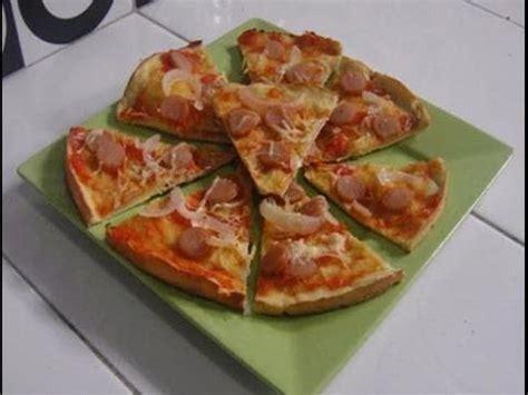 cara membuat doh pizza lembut cara membuat dan resep pizza sederhana dan mudah youtube