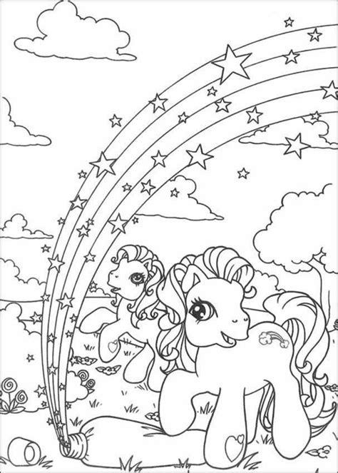 rainbow coloring pages for adults my little pony coloring pages rainbow in ponyland