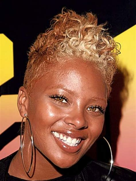 black women with short blonde mohawks 30 best short curly hair african american women curly