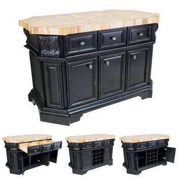 54 quot lyn design kitchen island isl07 blk hardware butcher block kitchen islands butcher block carts