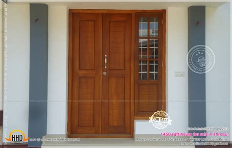 home door design kerala single front door designs in kerala elevation front door