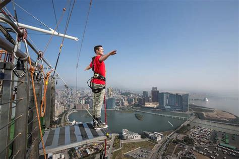 best bungee jumping macau bungy jump highest bungee jump in the world