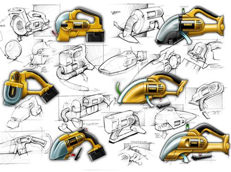 Design Concept Of A Powered Hand Tool | not your average power tools notcot