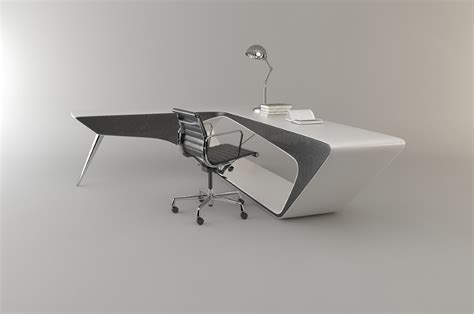 futuristic desk futuristic l shaped desk for modern workspaces digsdigs