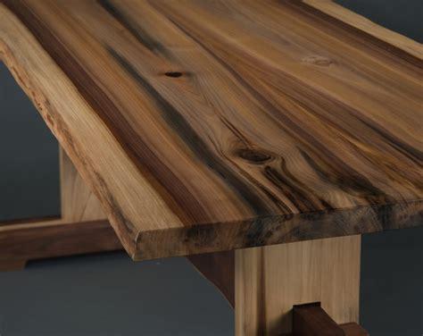 Rainbow Poplar Trestle Table