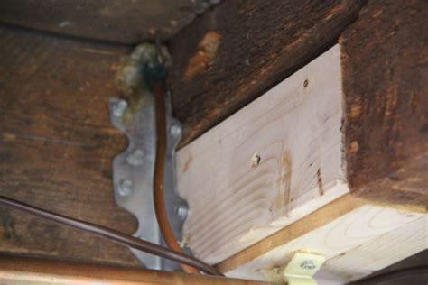 Floor Joist Repair How To Fix A Broken Floor Joist Page 8 Of 8 A Concord Carpenter