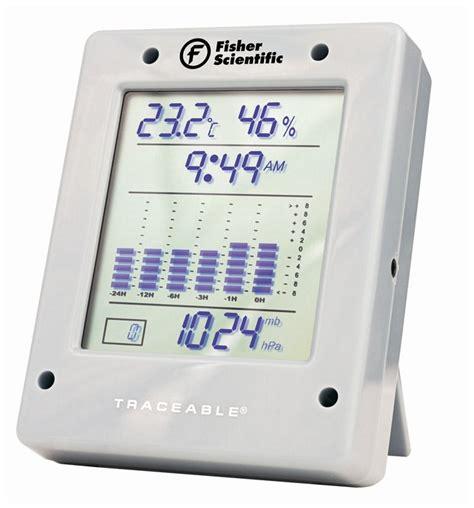 fisherbrand traceable digital barometer traceable
