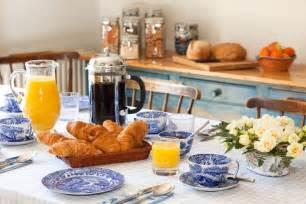 Breakfast Table Breakfast Dining Marne Cottage Bed Breakfast 01962