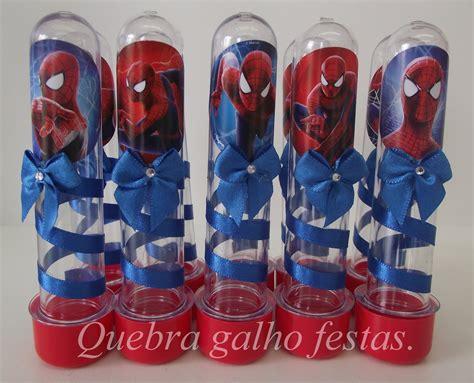 garrafas decoradas homem aranha lembrancinha festa infantil quebra galho festas
