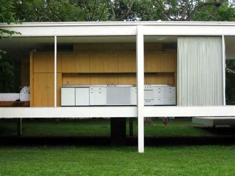 farnsworth house bedroom mies van der rohe farnsworth house kitchen interiors residential kitchens