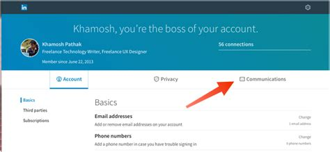 Search By Email Disabled How To Disable Email And Iphone App Notifications In Linkedin
