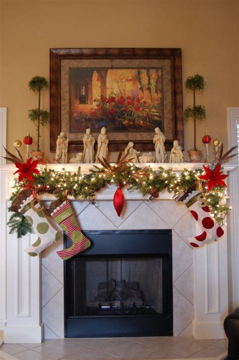 christmas mantel decor inspiration 27 christmas fireplace decoration ideas to try feed