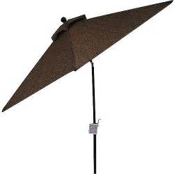 Patio Table Umbrella Walmart Better Homes And Gardens Paxton Place 9 Foot Outdoor Patio Umbrella Walmart