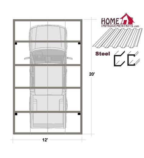 Steel Carport Plans Carport Plans Metal Images