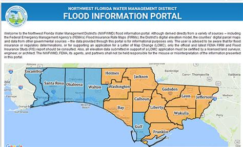 Escambia County Property Records Escambia County Updated Preliminary Flood Maps Available Northescambia
