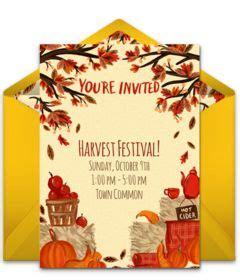 223 Best Free Party Invitations Images On Pinterest Free Party Invitations Invitation Design Fall Festival Invitation Templates