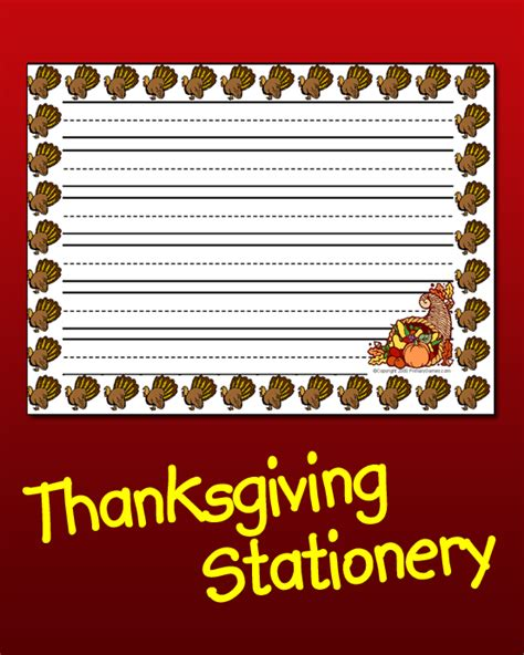 printable turkey stationery thanksgiving stationery printable images