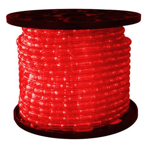hop pink led rope lights150 foot spool 1 2 in led rope light 150 ft spool 2 wire