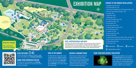 Atlanta Botanical Garden Map My Fav Chihuly Atlanta Botanical Garden