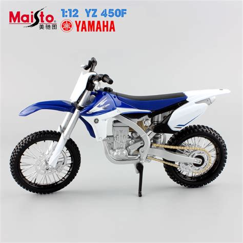 Diecast Cross Yamaha Yz450f 1 12 auto motor yamaha supercross motorcycle yz 450f models race car diecast motorbike alloy