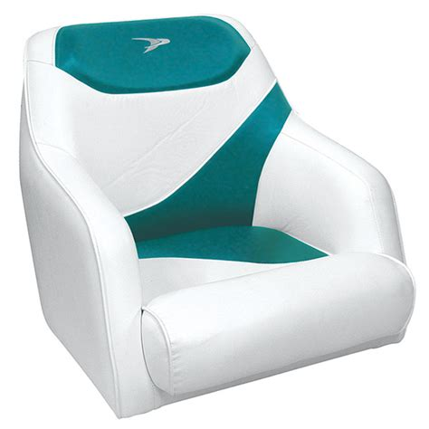 wise contemporary boat seats wise seating bucket seat white teal west marine