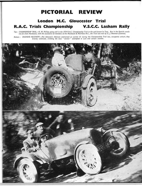 Pictorial Review | Motor Sport Magazine Archive