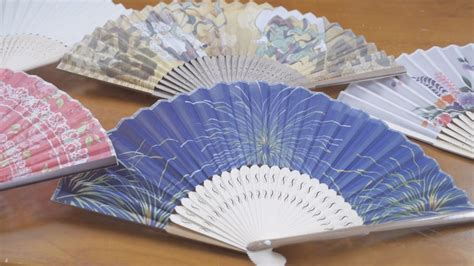 How To Make A Fan With Paper - 扇子 japanese paper fans