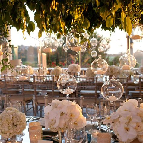 reception d 233 cor photos indoor garden inspired reception space inside weddings 17 best images about hanging glass balls on