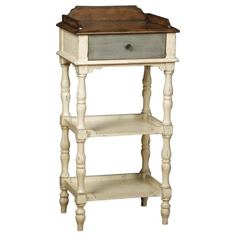 Gray Accent Table Colbert White Grey Accent Table