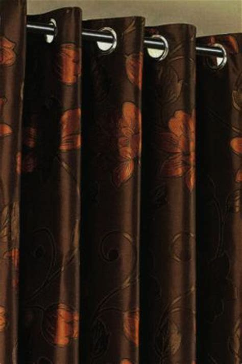 Chocolate Orange Curtains dunedin eyelet chocolate orange curtains harry corry