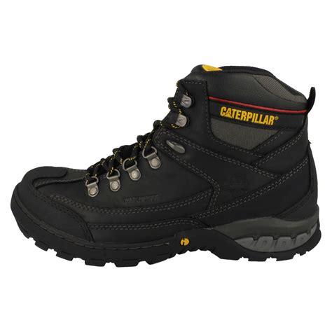 mens steel toe cap boots mens caterpillar waterproof steel toe cap boots dynamite