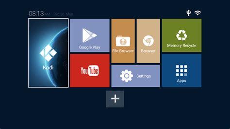 new android marshmallow tv box for kodi 17 krypton