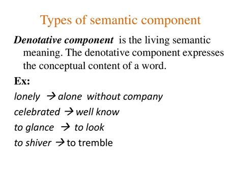 the semantic sources of the words for the emotions in sanskrit and the germanic languages a dissertation submitted to the faculty of degree of doctor of philosophy department books semasiology is a branch of lexicology