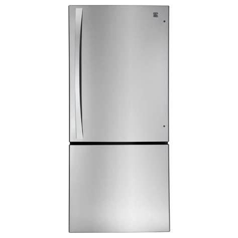 Single Door Refrigerator With Bottom Drawer Freezer by Amana Abb2224we 21 9 Cu Ft Single Door Bottom