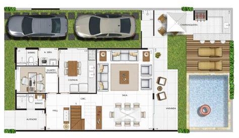 plantas de casa planta de casa de 3 quartos pequena area gourmet e piscina pesquisa home sweet