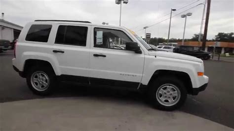 white jeep patriot 2014 2014 jeep patriot sport white ed886584 mt vernon
