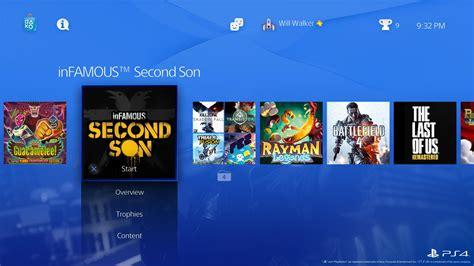 do ps4 themes move rumor imagens vazadas de nova dashboard do playstation 4