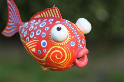 How To Make A Paper Mache Fish - yessy gt andre senasac gt paper mache fish