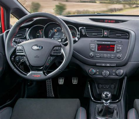 Kia Ceed Interior 2014 Kia Ceed Gt Review