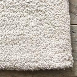 silver tufted wool rug goodglance