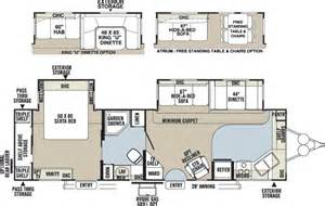 rv trailer floor plans slide out trend home design and decor access rv