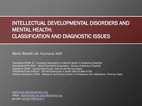 assessing and improving prediction and classification theory and algorithms in c books intellectual developmental disorders and mental health