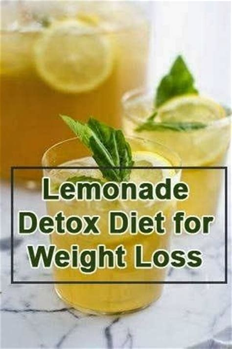 Best Home Detox Diet by 7 Detox Drinks For Weight Loss Tricksly