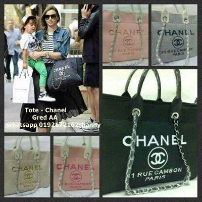 Harga Handbag Chanel Gred Aaa shopping handbag secara diary