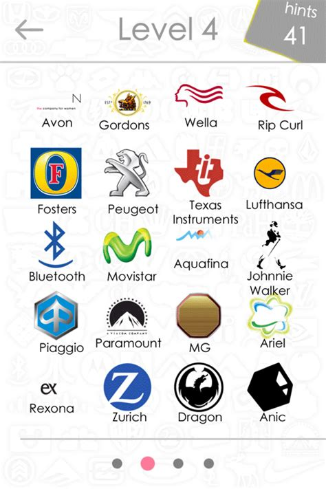 logo quiz answers level    iphone ipad  android