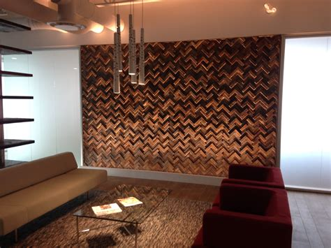 effigy of unique wood wall covering ideas interior