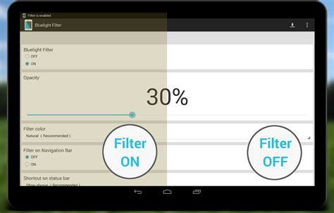 blue light screen filter bluelight filter for eye care android apps on google play