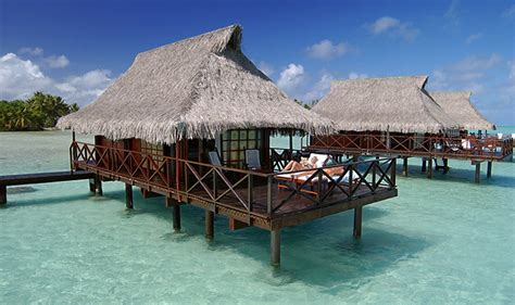 bungalow overwater in fiji islands yfgt islands in the sun