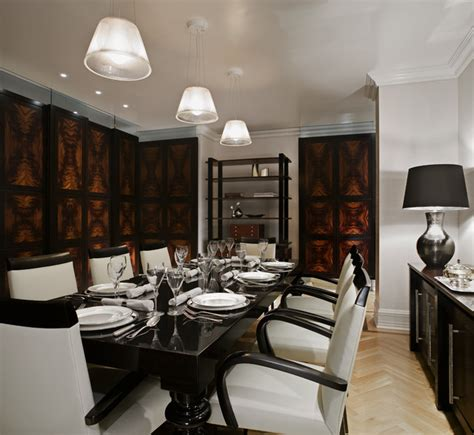 plaza hotel private residence dining room contemporary