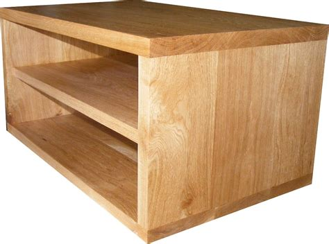 Handmade Tv Cabinets - handmade solid oak tv stand cabinet choose your size